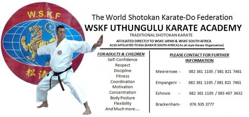 WSKF uThungulu Karate Academy