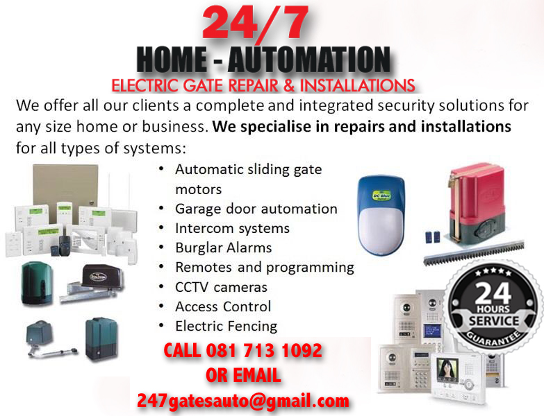 24/7 Home Automation and Gate Repairs