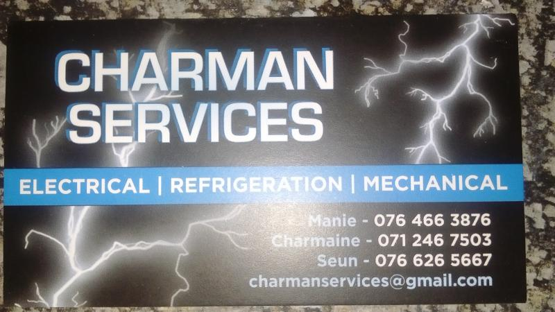 Charman services (PTY) LTD