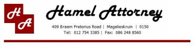 Hamel Attorneys