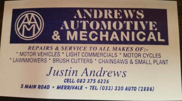 Andrews Auto & Mechanical
