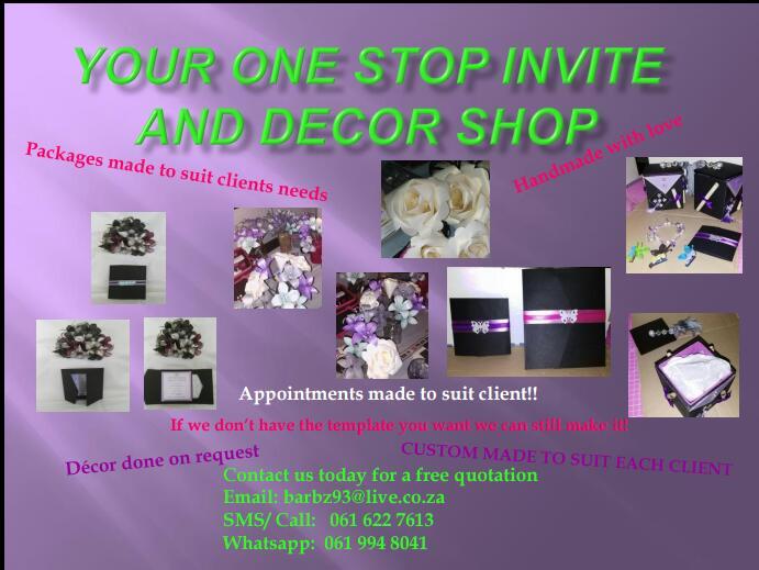 BC Invites And Decor