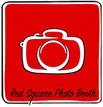 Red Square Photo Booth Hire