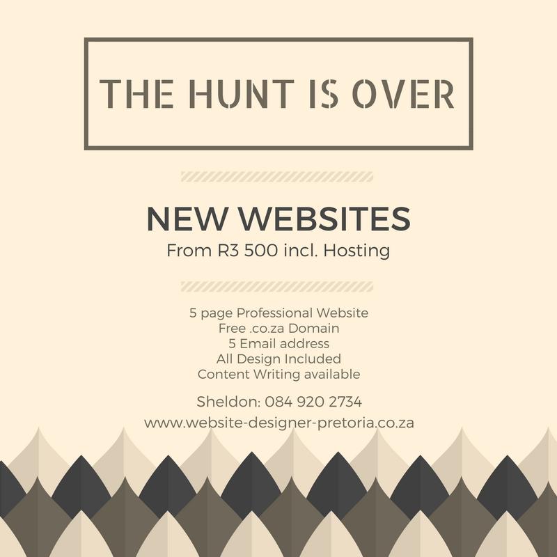 Website Designer Pretoria
