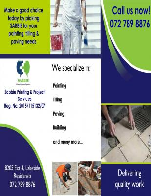 Sabbie Printing and Project Services (Pty) Ltd