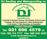 DJ Roofing and Waterproofing cc