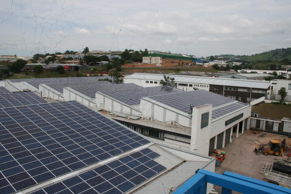 Industrial Grid Tied Installation 580Kw