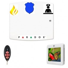 Paradox Wireless Alarm Touch Screen Keypad Remote & More....