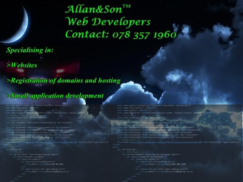 Allan&Son Web Developers