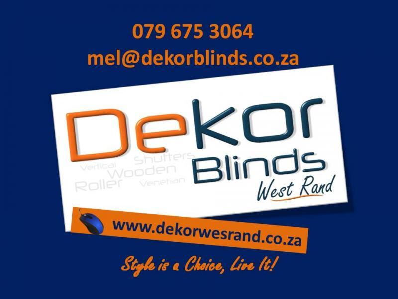 Dekor Blinds West Rand