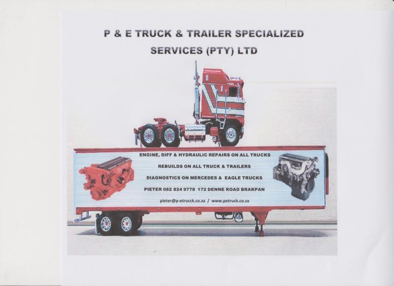 P&E Truck & Trailer Specialized Services