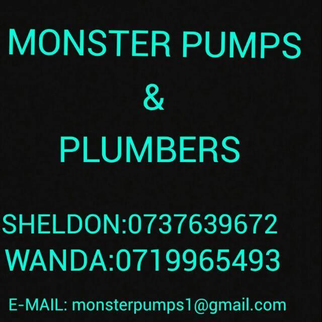 Monster Pumps / Plumbers & Building Maintenance