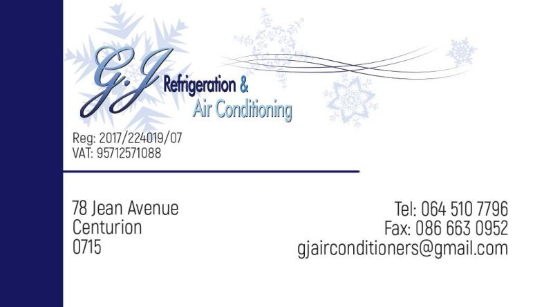 GJ Airconditioning and refrigeration services (Pty) Ltd