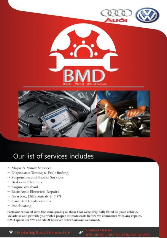 BROKS Motor Doctors (PTY) LTD