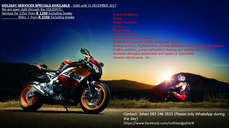 On the Edge Motorcylce Solutions Partnership