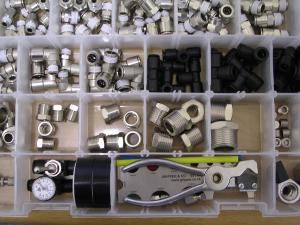 Pneumatic Fittings Survival Box